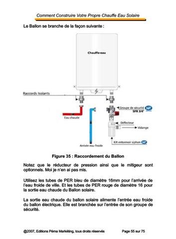 Mon chauffe eau solaire votre chauffe eau solaire en for Guide autoconstruction