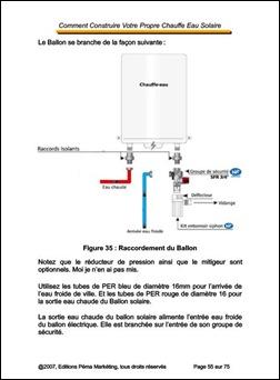 Construction Chauffe-Eau Solaire-Ballon