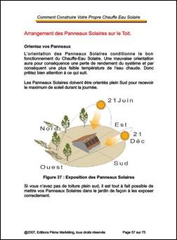 Construction Chauffe-Eau Solaire-Toit