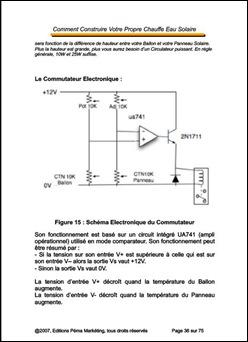Construction Chauffe-Eau Solaire
